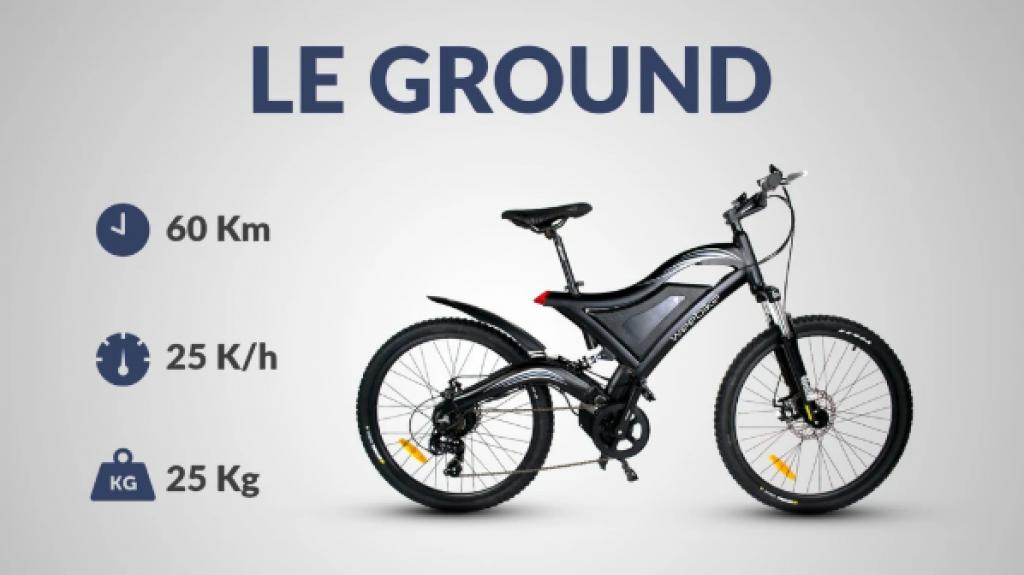 Un vélo électrique tout-terrain au design futuriste