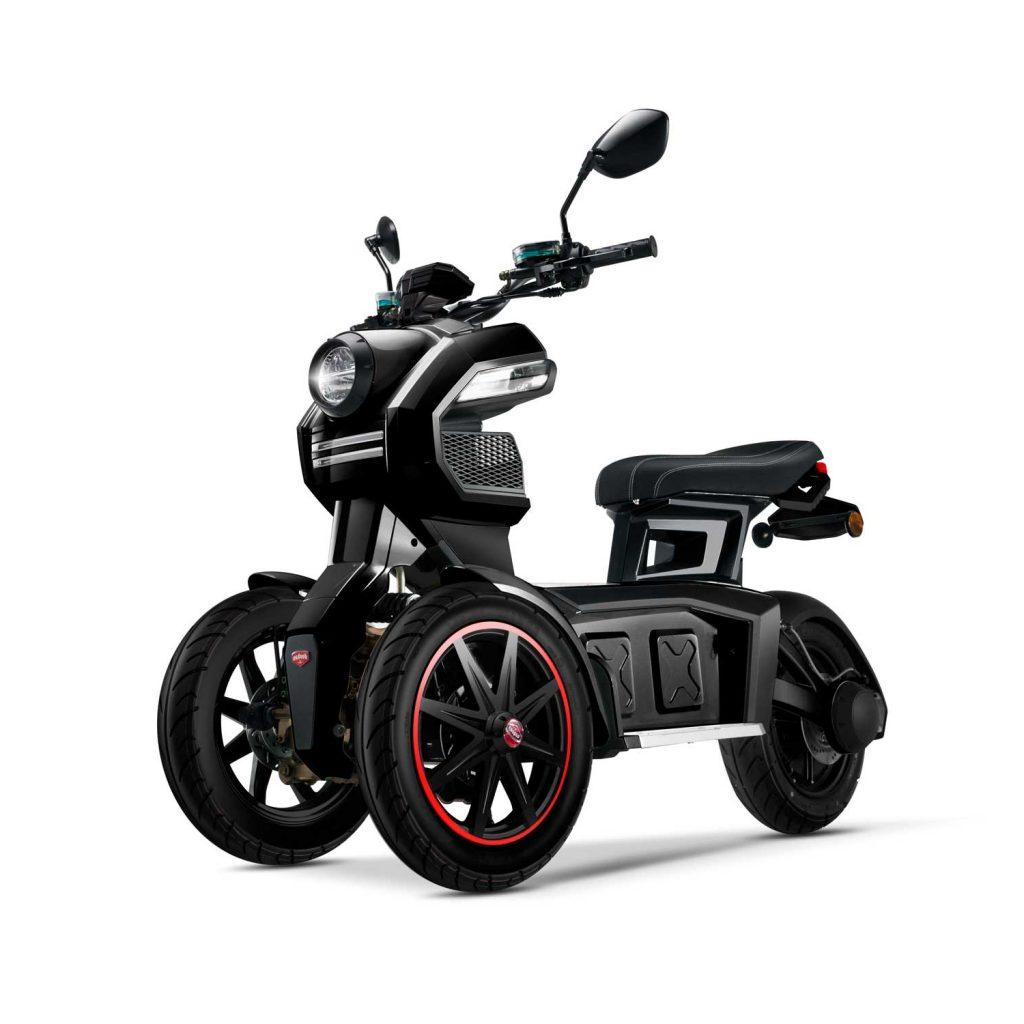 scooter electrique 3 roues_doohan itank 50 noir comparateur avis