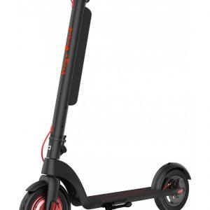 trottinette electrique pliable runway plus noir rouge wegoboard
